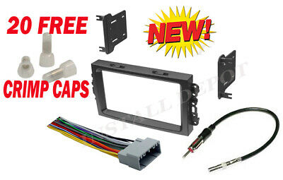 $17.04 • Buy 05-07 Complete Stereo Installation Dash Kit Harness Antenna Jeep Grand Cherokee