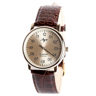 £34.69 • Buy One Hand Luch Mechanical Wristwatch Men's. Single Handed Watch. 377477761 RUS