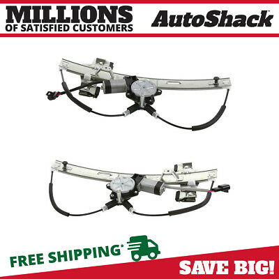 $78.38 • Buy Rear Power Window Regulator With Motor Pair 2 For 2004-2008 Pontiac Grand Prix