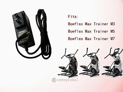 $ CDN19.99 • Buy AC/DC Adapter For Bowflex Max Trainer Elliptical M3 M5 & M7 Power Supply Cord
