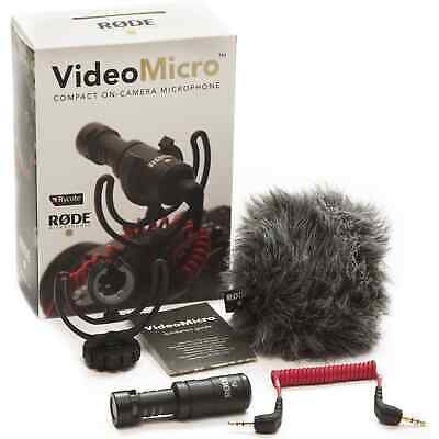 AU78 • Buy Rode VideoMicro On Camera Cardioid Condenser Microphone (VMICRO)