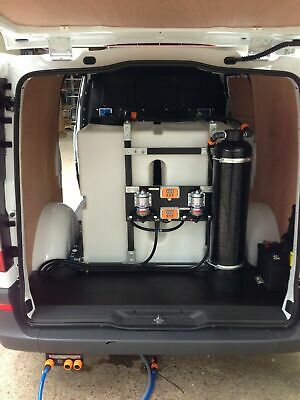 £1525 • Buy 500L FRAMED BUDGET DI PURE WATER SYSTEM Kit 2 User - Window Cleaning