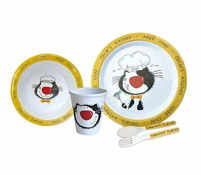 £7.95 • Buy Camping Melamine Set 5 Piece Oscar's Kitchen 5 Kids Camping Picnic Home Outdoor