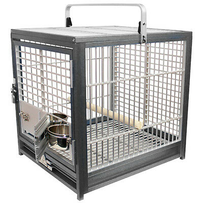 £287.36 • Buy KINGS CAGES ATS 1719 ALUMINUM SMALL TRAVEL CARRIERS CAGE Parrot Bird Toy Toys