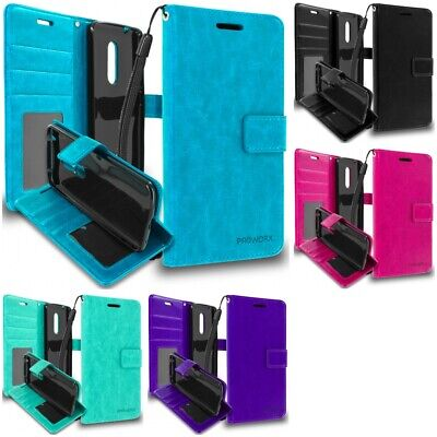 AU8.28 • Buy For ZTE Axon 7 PROWORX Wallet Premium Case With Credit Card ID Slots Pockets