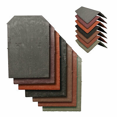 Tapco Synthetic Roof Slate Tile - Conservatory Porch Garage Shed Plastic Shingle • 5.50£