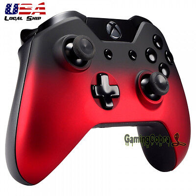 $12.99 • Buy Replacement Front Shell Faceplate For Xbox One Controller Shadow Red Soft Touch