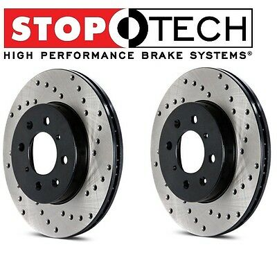 $ CDN210.17 • Buy For Lotus Elise Exige Set Of Rear Left & Right StopTech Drilled Brake Rotors