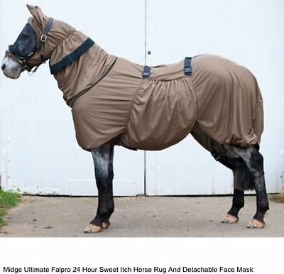 Fal Pro Midge Ultimate Full Body Fly Rug Extra Small To Fit 4'9 • 85£