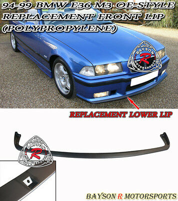 $49.99 • Buy OE-Style Replacement Front Bumper Lower Lip Spoiler (PP) Fits 94-99 BMW E36 M3