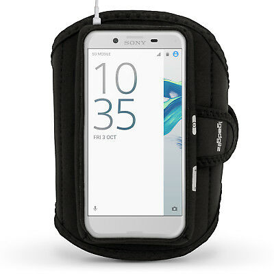 Running Jogging Sports Armband For Sony Xperia X Compact Fitness Gym Case Cover • 1.99£