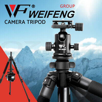 AU59.90 • Buy Weifeng Professional Camera Tripod Monopod Stand DSLR Ball Head Mount Flexible