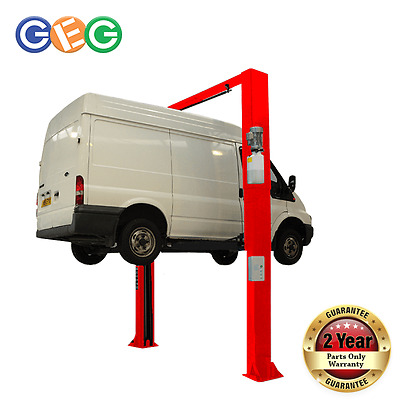 2 Post Lift Eurotek 25C, SINGLE PHASE, Listing Comes With A Forklift Delivery • 3,234£