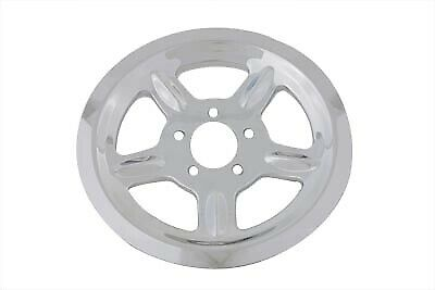 Chrome Rear Pulley Cover 68 Tooth,for Harley Davidson,by V-Twin • 51.40$