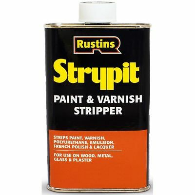 £18.48 • Buy Rustins Strypit Paint And Varnish Stripper Remover 1 Litre Strips Paint Varnish