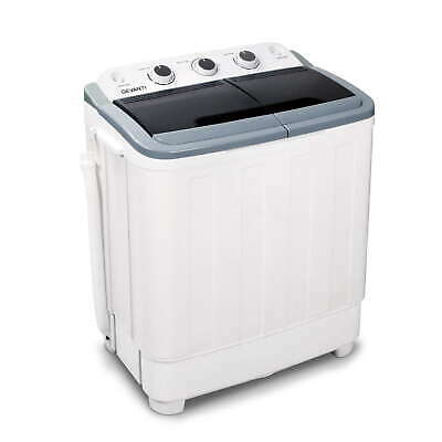 AU169.95 • Buy Devanti 5kg Mini Portable Washing Machine Twin Tub Spin Camping Caravan Outdoor