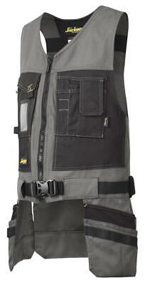 Snickers 4254 Utility Work Toolvest, Canvas+ GREY • 76.34£
