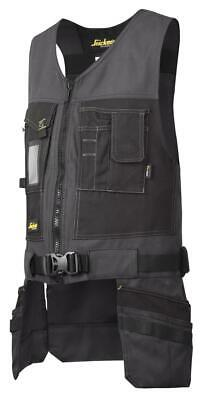 Snickers 4254 Utility Work Toolvest, Canvas+ STEEL GREY • 76.34£