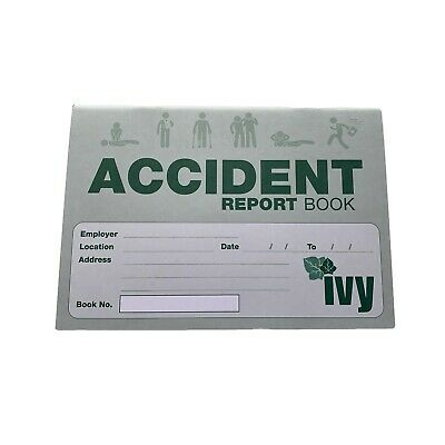 £2.69 • Buy Accident Report Book - First Aid Injury Record School Office