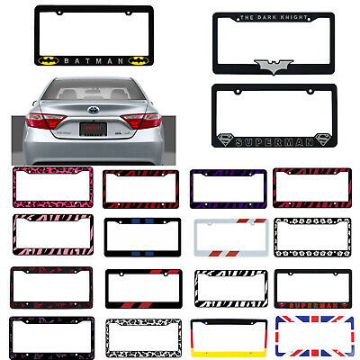 $9.98 • Buy New Car Truck Suv Van Universal Fit License Plate Frame Made In U.S.A