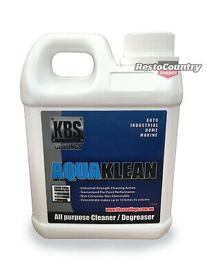 AU24.60 • Buy KBS Aqua Klean One 1 Litre AquaKlean Clean Degreaser 1ltr Paint Prep