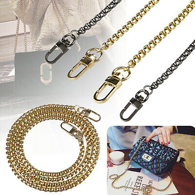 $7.97 • Buy Replacement Purse Chain Strap Handle Shoulder Crossbody Handbag Bag Metal 120cm