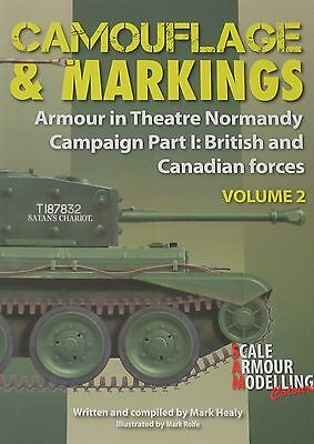 £19.99 • Buy TANKS NORMANDY WW2 Camouflage Markings Allied Army NEW Armour Theatre (Volume 2)