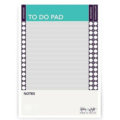 £3.99 • Buy Monster Things To Do Today A5 To Do Pad Daily Desk Planner Schedule Organiser