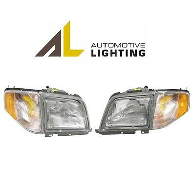 $681.92 • Buy For Mercedes R129 SL320 SL500 SL600 Pair Set Of Two Halogen Headlights OEM