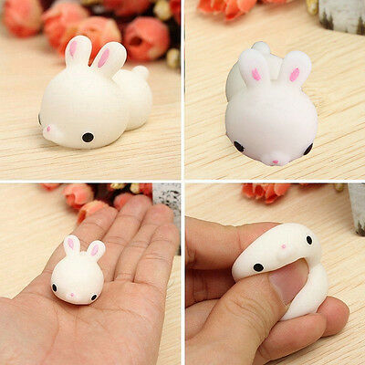$ CDN0.99 • Buy Mochi Lovely Cute Rabbit Squishy Squeeze Healing Stress Reliever Toy Gift Decor