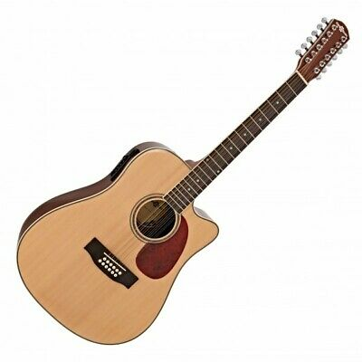£114.99 • Buy Dreadnought 12 String Electro Acoustic Guitar By Gear4music
