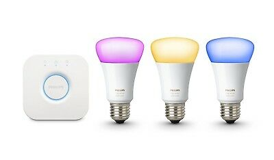 AU105 • Buy Philips Hue 3rd Generation Richer Colours 9W E27 Bulb Only Or Hue Bridge 2.0