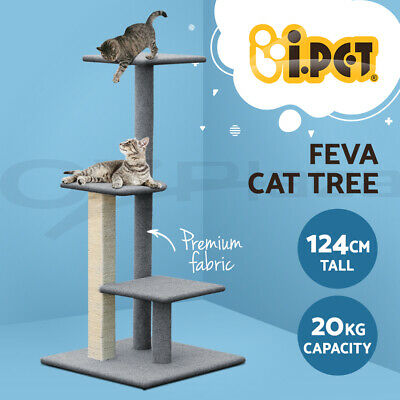 AU74.90 • Buy I.Pet Cat Tree Trees Scratching Post Scratcher Tower Condo House Furniture Wood