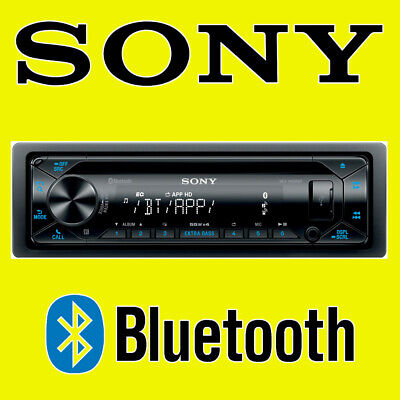 SONY CAR CD USB RADIO STEREO TUNER HEAD UNIT PLAYER ANDROID IPHONE BLUETOOTH • 99.95£