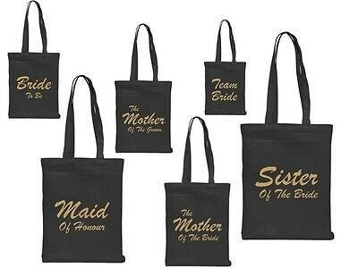 £3.95 • Buy Wedding Role Favour Tote Bag Cotton Printed Gift Present Keep Hen Party Novelty