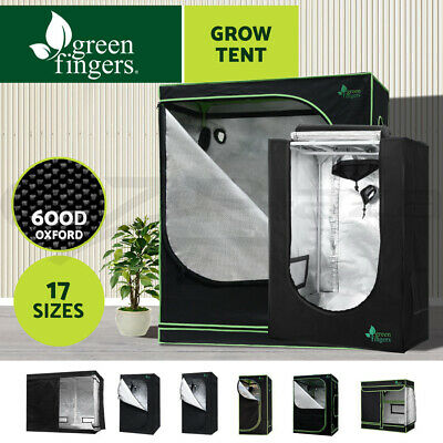 AU104.90 • Buy Greenfingers Grow Tent Kits Hydroponic Indoor System 600D Oxford Cloth