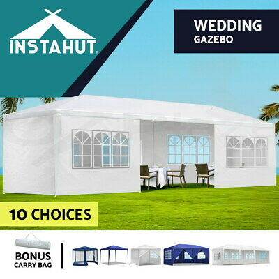 AU125.90 • Buy Instahut Gazebo Party Wedding Marquee Outdoor Event Tent Shade Canopy Camping