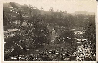 Millers Dale Near Tideswell. The Old Mil # 2248. • 15£