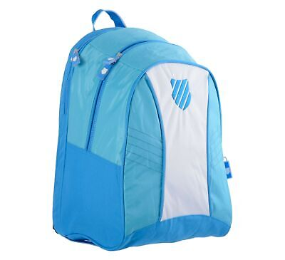 K-Swiss Ibiza Tennis Backpack With Laptop Compartment School Ofiice Sport Gym • 12.95£