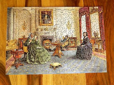 £89.99 • Buy CHAD VALLEY 1938 RARE WOODEN PROMO 225 Pc JIGSAW PUZZLE 'REFERENCES'
