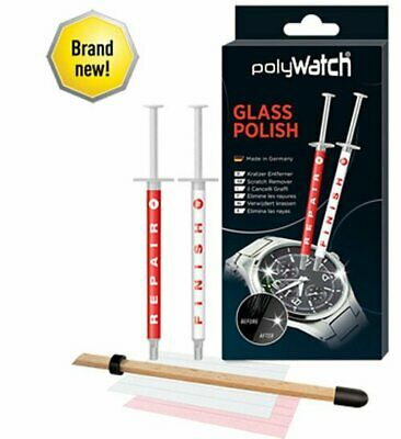 £12.90 • Buy PolyWatch Glass Polish - Scratch Remover / Repair SmartPhone Screens Watches