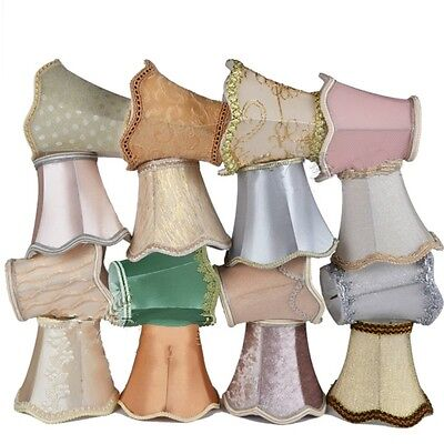 Small Lace Lampshade Cotton Textured Fabric Drum Shade Table Ceiling Light Cover • 9.57£