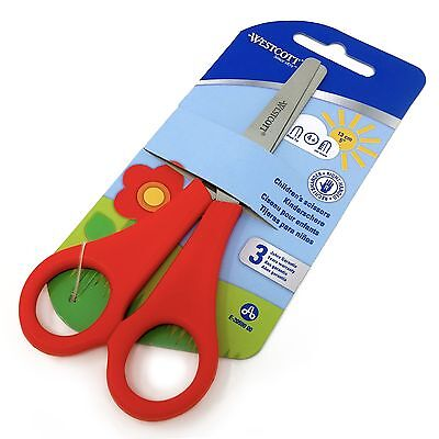 £2.69 • Buy 1 X Red Westcott Right Handed Kid's Children's Safety Scissors - Blunt Ended