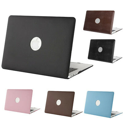 Mosiso Laptop Cover Case For Macbook Air Pro 13 Retina Apple Logo Cut Out 2015 • 14.99$