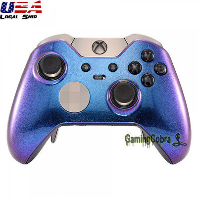 Glossy Game Chameleon Replacement Part Front Shell For Xbox One Elite Controller • 15.78$