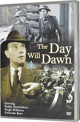 The Day Will Dawn 1940s Ralph Richardson World War 2 U-Boat Spy Aquila Film DVD • 16.95£