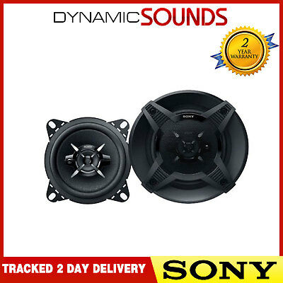 SONY XS-FB1030 3 Way 4 Inch 10 Cm 440 Watts Car Van Door Dash Shelf Speakers • 29.95£