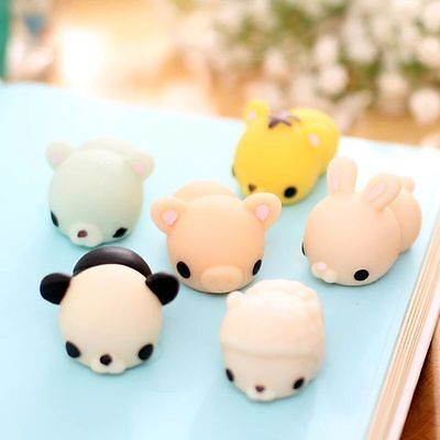 AU1.74 • Buy Mochi Soft Cute Animal Squeeze Stretch Compress Squishy Decompression Toy