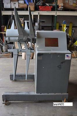 $8950 • Buy 6,000# Feed Lease Reel, Uncoiler P-46M-12, Coil Handling, Planet Machinery #4762