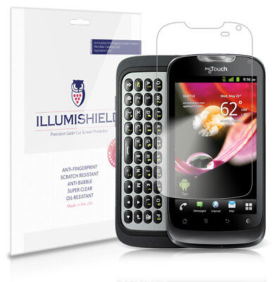 ILLumiShield Anti-Bubble/Print Screen Protector 3x For T-Mobile MyTouch Q 2011 • 5.54£